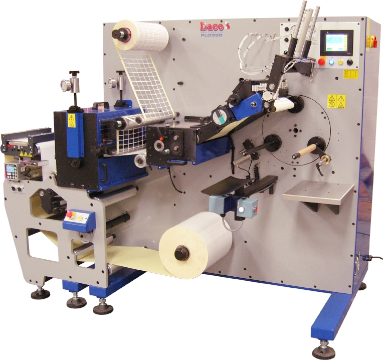 Daco PLD350 plain label production machine